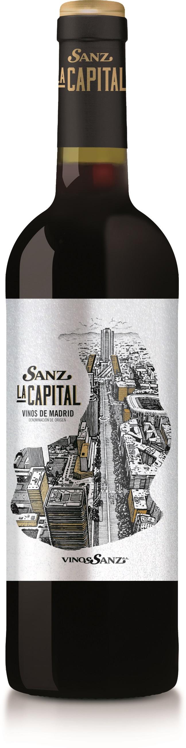 Vinos Sanz La Capital Tempranillo 2017